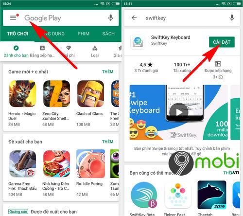 cach cai swiftkey beta tren android 6
