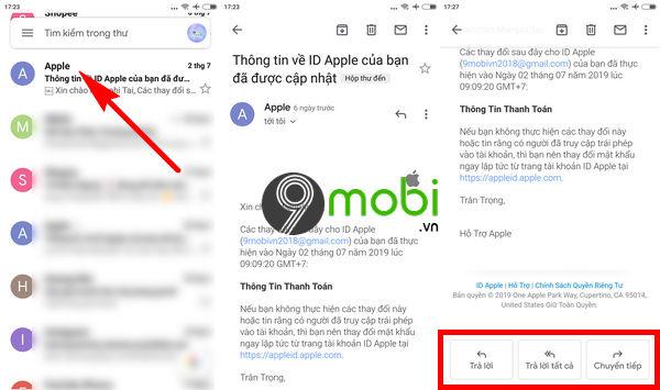 hop thu gmail tren dien thoai cach mo nhan gui mail 4