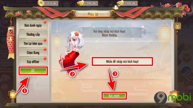giftcode thien long kiem 4