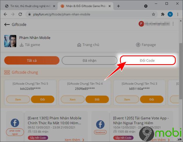 huong dan nhan code pham nhan mobile moi nhat 2021