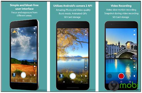 top ung dung camera tot nhat cho android 2020 5