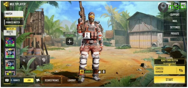 cach choi che do 1vs1 trong call of duty mobile