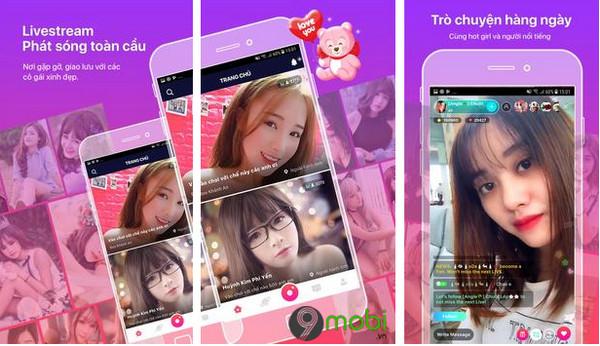 top app lam dep khi livestream facebook tren dien thoai iphone