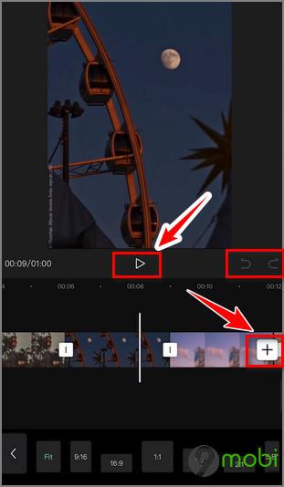 cach edit video tiktok bang capcut