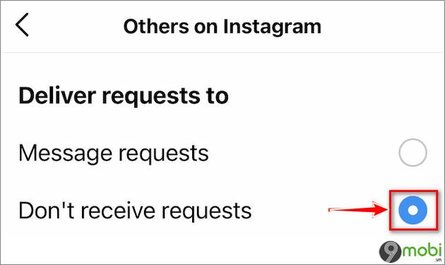 tat tin nhan cho tren instagram