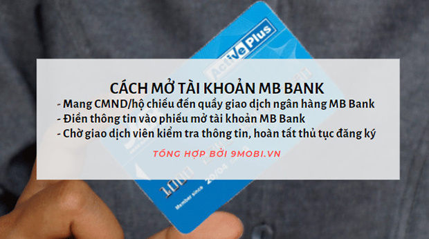 Mở tài khoản MBBank, Ngân hàng thương mại cổ phần Quân đội