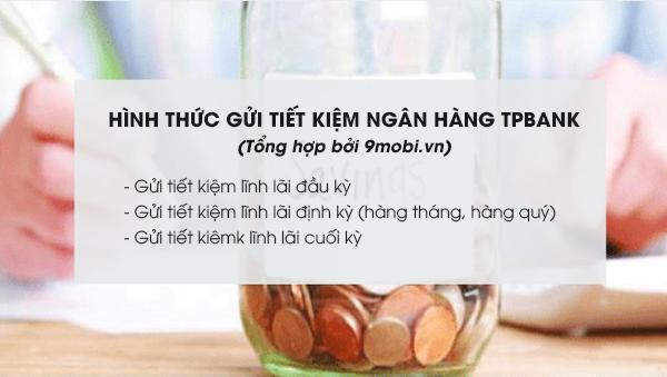 Cách gửi tiết kiệm TPBank lãi suất cao