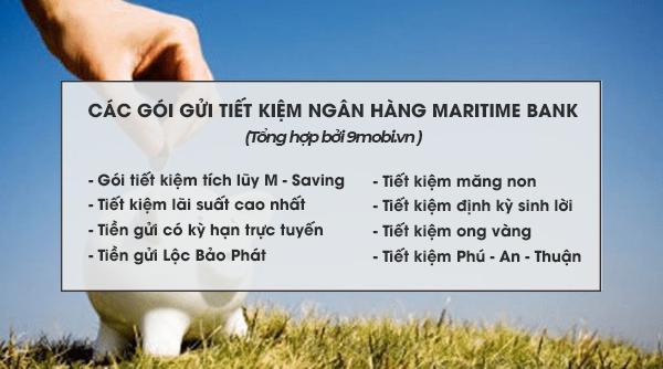 Cách gửi tiết kiệm Maritime Bank lãi suất cao