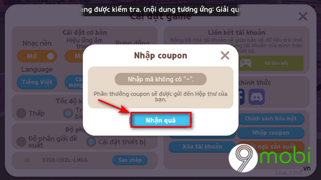 cach nhan code play together