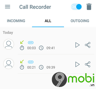huong dan ghi am cuoc goi tren android bang call recorder automatic 11