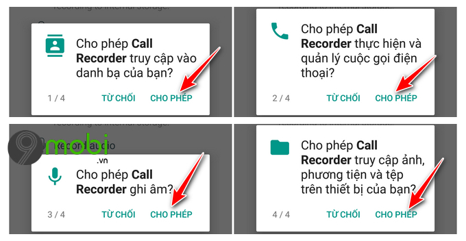 huong dan ghi am cuoc goi tren android bang call recorder automatic 6