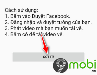 huong dan tai video facebook android bang video downloader for facebook 5