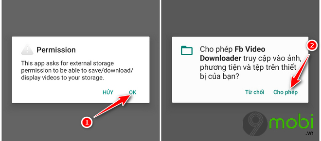 huong dan tai video facebook android bang video downloader for facebook 6