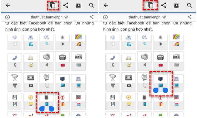 cach chen bieu tuong icon khi dang bai viet facebook 5