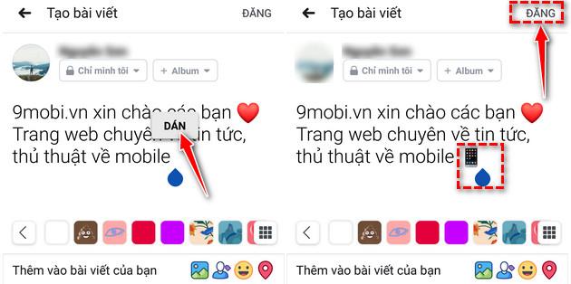 cach chen bieu tuong icon khi dang bai viet facebook 6