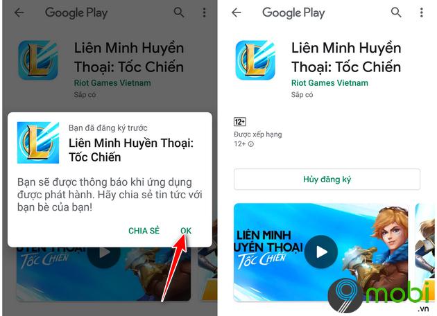 huong dan tai va cai dat lien minh huyen thoai toc chien cho android 10