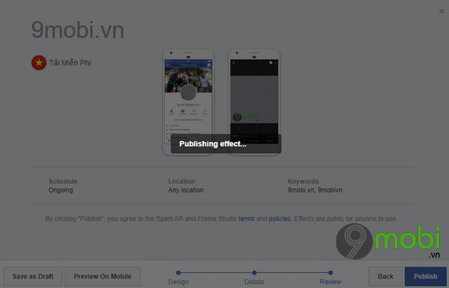 cach tao khung facebook bang dien thoai co hieu ung 9