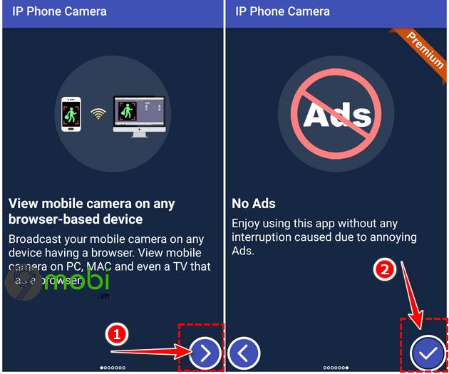 huong dan dung dien thoai android lam ip webcam
