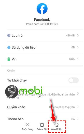 loi facebook khong tai duoc bang tin newsfeed tren android