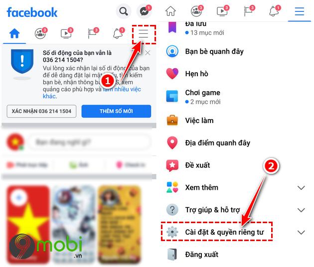 cach sua loi facebook khong tai duoc bang tin newsfeed tren android iphone 13