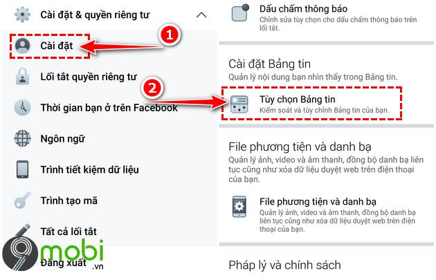 cach sua loi facebook khong tai duoc bang tin newsfeed tren android iphone 14