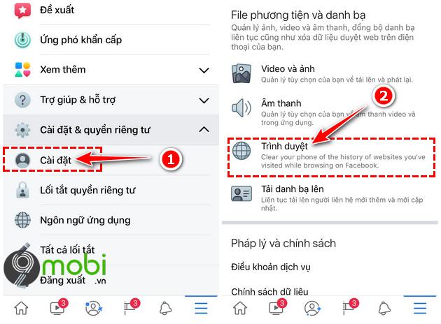loi facebook khong tai duoc bang tin newsfeed tren iphone
