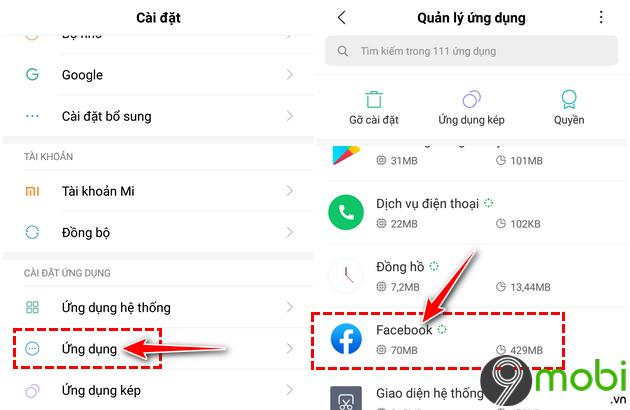 cach sua loi facebook khong tai duoc bang tin newsfeed tren android