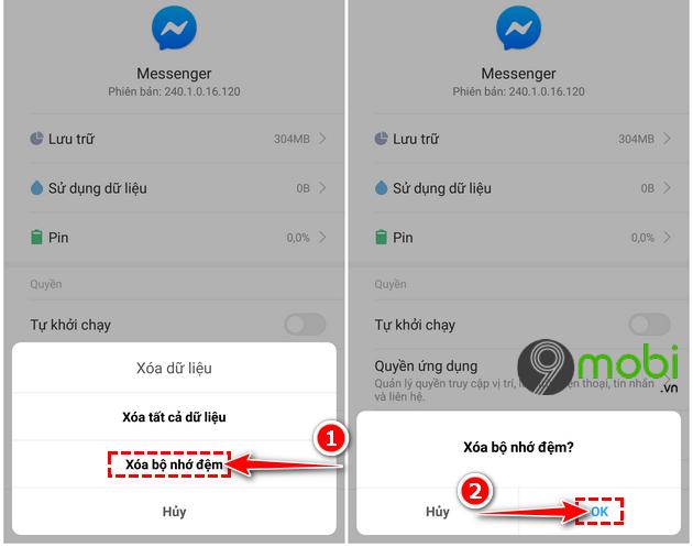 cach sua loi messenger khong hoat dong tren dien thoai android 5