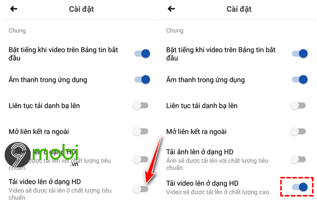huong dan dang video 4k len facebook tren dien thoai android