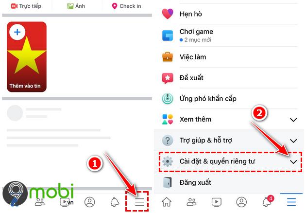 cach dang video 4k len facebook tren dien thoai iphone