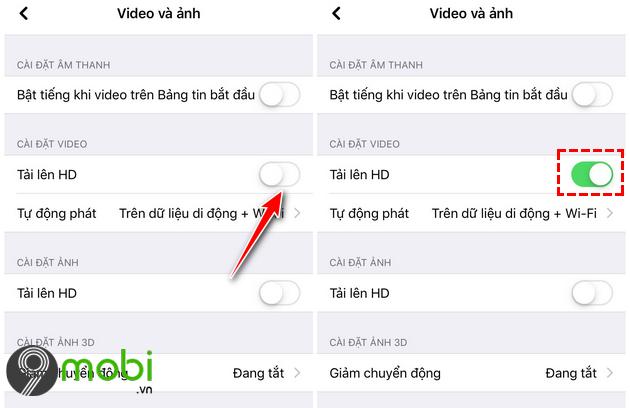 huong dan dang video 4k len facebook tren dien thoai iphone