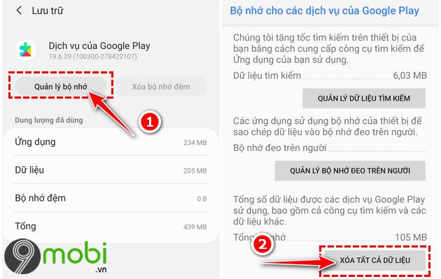 huong dan cap nhat google play services
