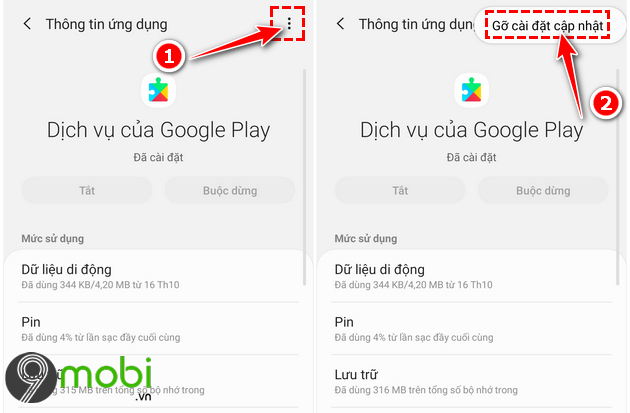 huong dan cach cap nhat google play services tren android 5