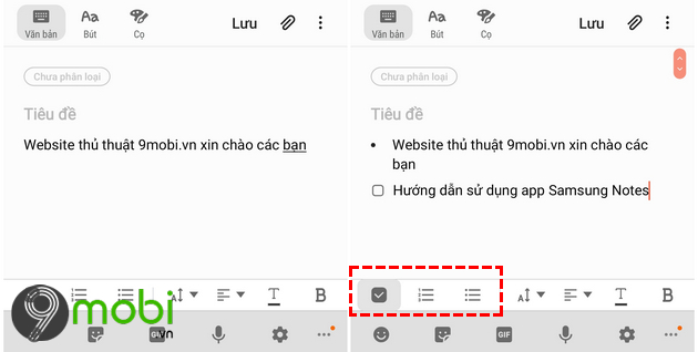 cach su dung ung dung samsung notes
