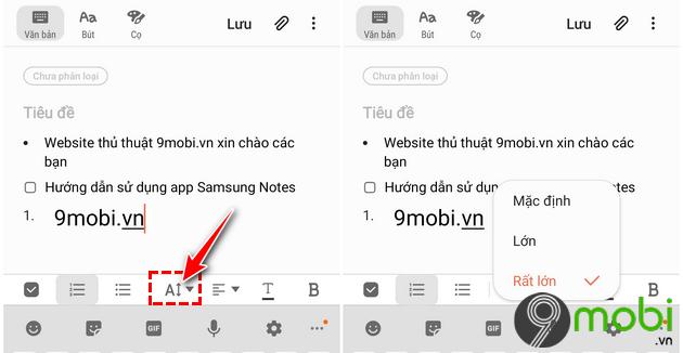 huong dan dung app samsung notes