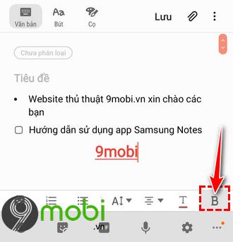 cach su dung app samsung notes 7