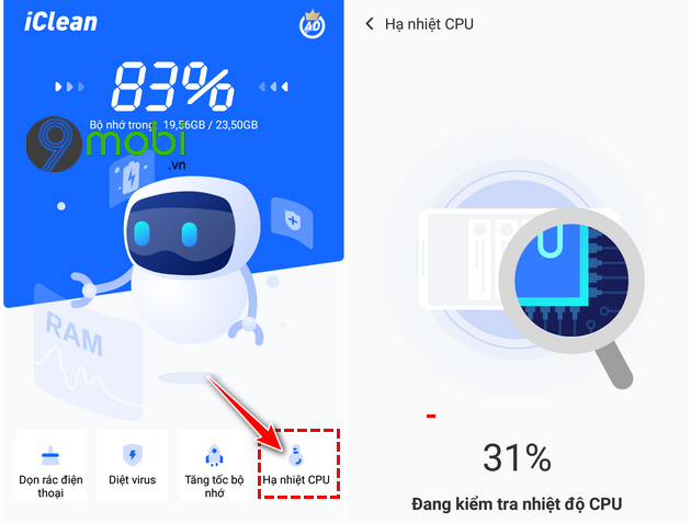 cach su dung ung dung iclean giup dien thoai android muot hon 11