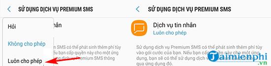 Khac phuc loi dien thoai android khong gui duoc tin nhan