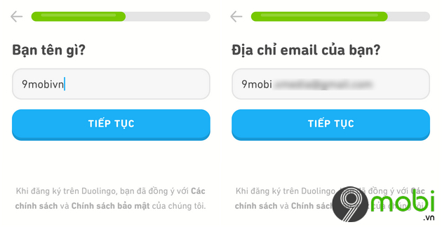 ung dung hoc tieng anh duolingo