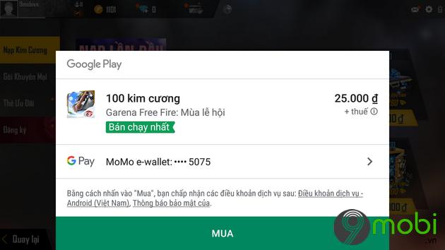 huong dan nap the garena free fire tren iphone
