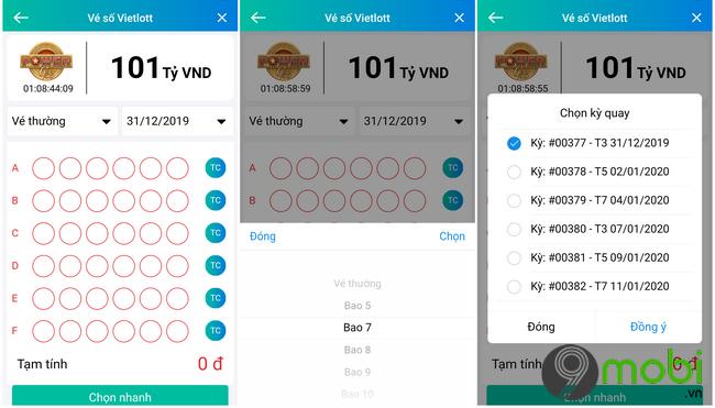 Hướng dẫn mua Vietlott trên Viettel Pay