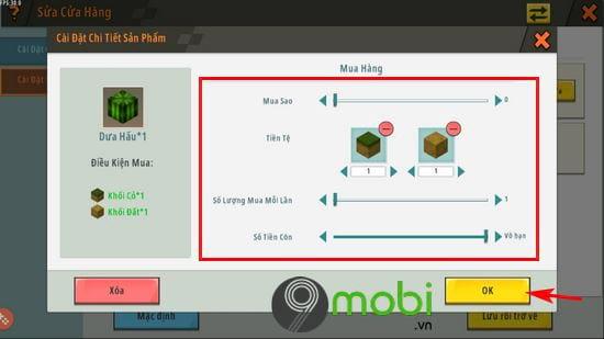 huong dan mo cua hang npc trong mini world 11