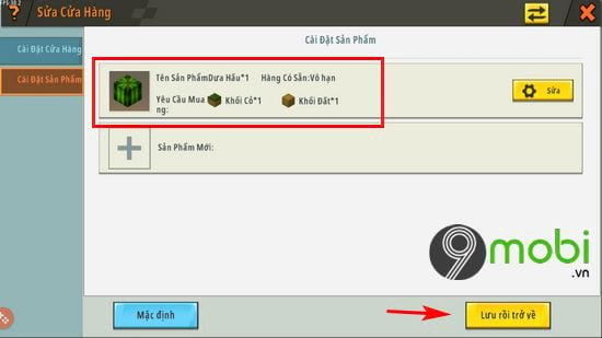 huong dan mo cua hang npc trong mini world 12