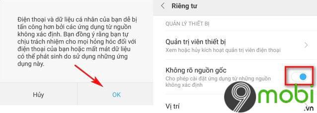 sua loi khong cai duoc facebook tren dien thoai android 6