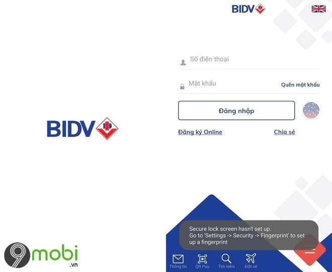 Cách tải và cài các ứng dụng BIDV lên smartphone