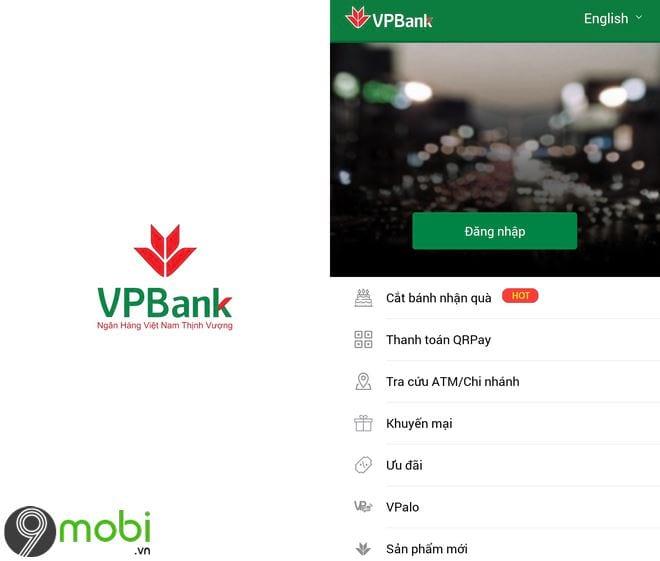 Hướng dẫn tải ứng dụng của ngân hàng VPBank