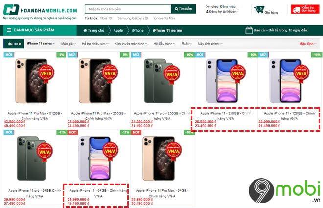 mua iphone 11 tai viet nam cho nao ban re nhat 7