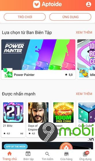 huong dan tai ung dung game tren aptoide for android 7