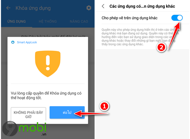 applock cho android