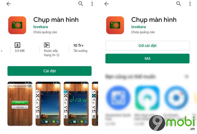 chup man hinh android